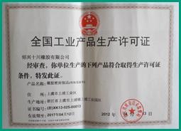 2007-03 取得中国国内生产许可证